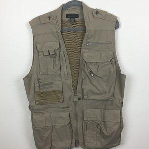 18d9eb7ead2de Banana Republic Safari Tactical Vest Size Medium